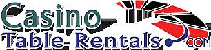 Casino Table Rentals Logo (c) 2003.